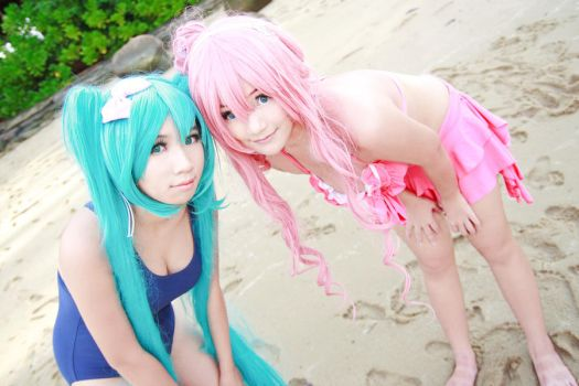 Swimsuit Luka cosplay- double by w2200354