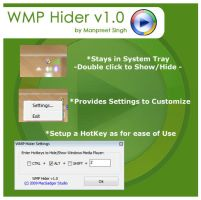 WMP Hider v1.0 by MacGadger
