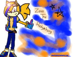 Zero The Hedgehog! by xItsElectric