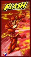 THE FLASH by WOLVERINE76