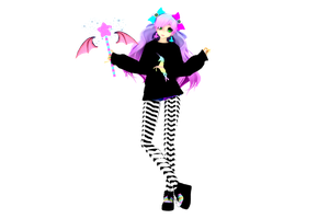 .: Pastel Goth :. by moonchildlagarde