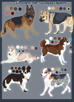 Designs for Wildfire-kennels by WagginKennelClub