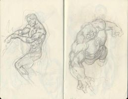 DC Sketchs 03 by pansica