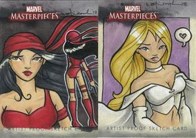 marvel masterpieces proofs 2 by katiecandraw