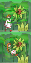 Sofia Plant Vore Sequence by 34Qucker