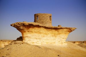 Qatar - Zekreet - 20 - Hut on the Top by GiardQatar