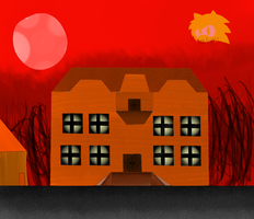 Blood Moon Mansion by MarioMario54321