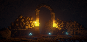 Dungeon, Unreal engine by PlanetaryMisfortune