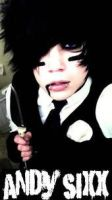 Andy 6- Black Veil Brides 3 by SlitsWristsCullen