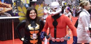 Amt-Man and Wasp @ C2E2 2012 by MonkeySquadOne