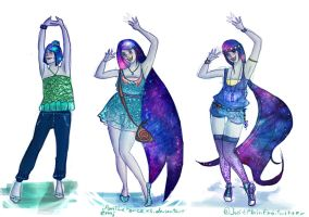 Galaxy Princess Capella - outfit design *contest* by iAmTheForcex3