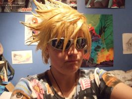 New Roxas wig by FullMetalWing