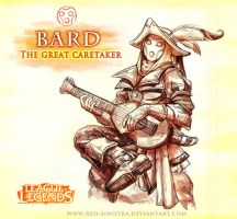 League of Legends: BARD (version 1) by Red-Sinistra