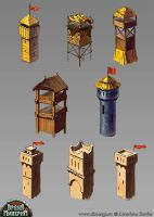 Towers concepts by In2Eternity