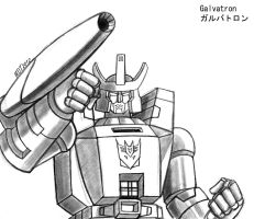 Galvatron by MDTartist83
