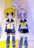 Zatch and Zeno as the vocaloid by gashxbellxluver