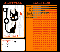 keys heart chart by Densetsugin