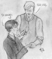 Holmes is a pansy. by InkofTheMadHatter