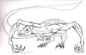 SPOILERS Cloverfield Monster by Tophoid