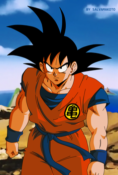Son Goku DBZ by salvamakoto