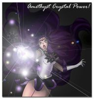 Amethyst Crystal Power by sakkysa