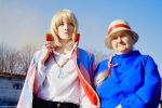 Howl's Moving Castle by kirawinter
