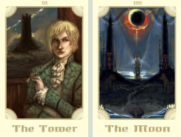 HP inspired Tarot - 1 by oneoftwo