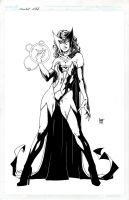 Scarlet Witch by KenHunt