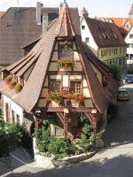Rothenburg ob der Tauber 2 by nathies-stock