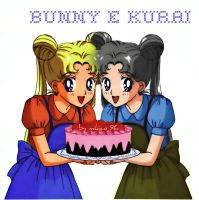 bunny and kurai by Kuratani