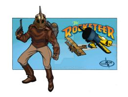 The Rocketeer by thomsolo