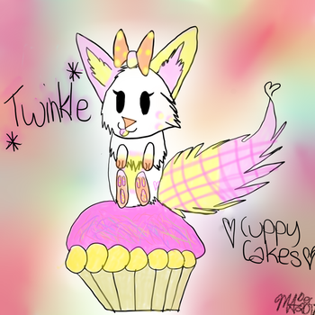 Twinkle And Her Cuppy Cakes by Maggehx3