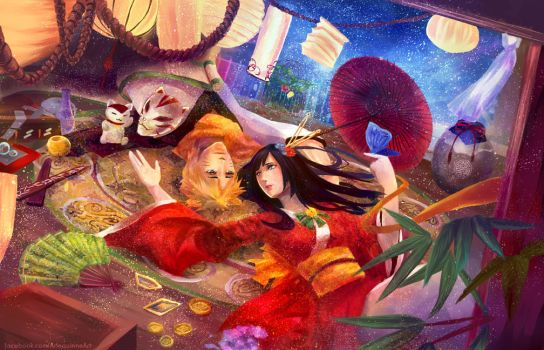 + NARUTO + Wishful Dreams by ElinTan