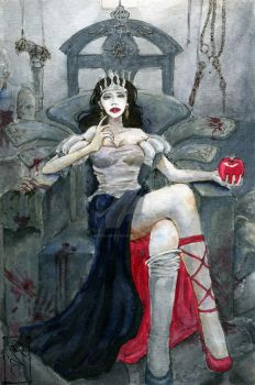 My dear Snow White by claes-gascogne