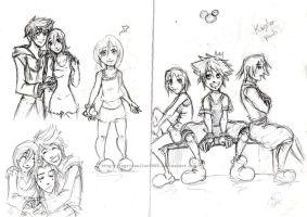 Kingdom Hearts_ by ingridsailor2009