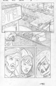 Black Cat vs Aunt May pg1 by Redweb