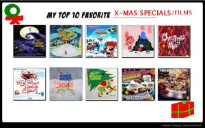Dr. Earthworm Robotnik's Top 10 Christmas Speicals by DrEarthwormRobotnik