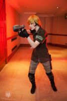 Military Dress Samus - Metroid Other M Cosplay by faramon