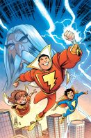 Shazam Cover Colors 19 by heck13r
