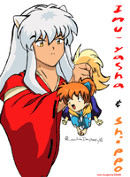inuyasha and shippo by inuyashasno1girl