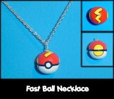 Fast Ball Necklace Charm by YellerCrakka