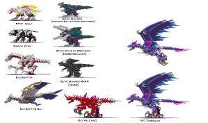 Custom Zoids by Kardowin