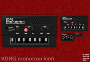 KORG monotron icon by sycamoreent-REMIX