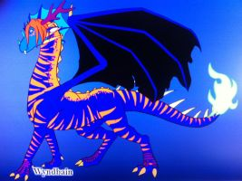Starcatcher the Moon Dragon by queenfirelily17