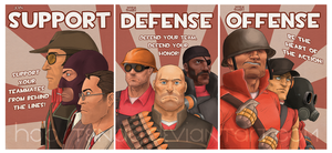 TF2 Propaganda by Hoosteenay