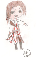 Chibi Ezio by Mini-ninja14