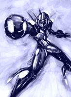 Rockman Ender by gts