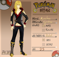 Pokemon Village App:: Maechan by Algolagnie
