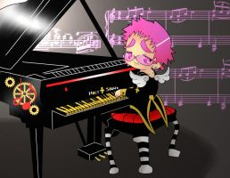 Rio and his piano by ALA69