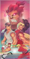 Street Fighter: Assassin's Fist by DaveJorel